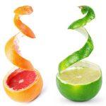 Ingredient - lime & grapefruit peel